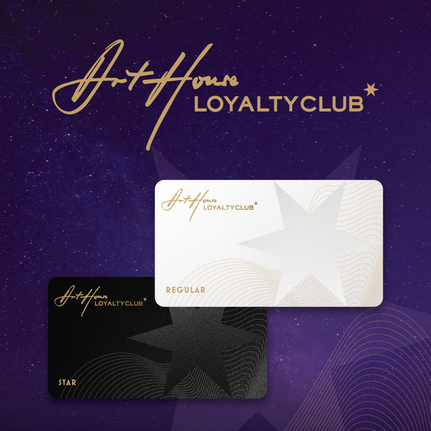 Art House Loyalty Club offers and conditions